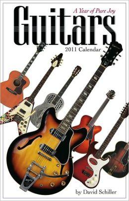 2011 Guitars Wall Calendar
