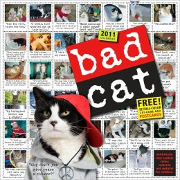 2011 Bad Cat Wall Calendar