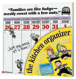 2011 The Family Organizer Page-A-Week Wall Calendar