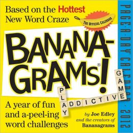 2012 Bananagrams! Page-A-Day Calendar