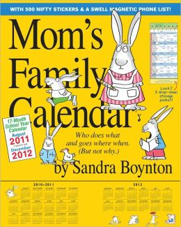 2012 Mom's Family Wall Calendar