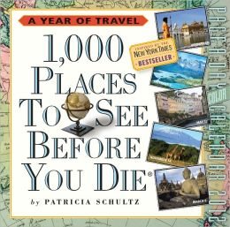 2012 1,000 Places to See Before You Die Page-A-Day Calendar