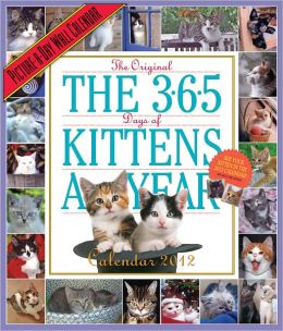 2012 The 365 Kittens-A-Year Picture-A-Day Wall Calendar