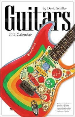 2012 Guitars Wall Calendar