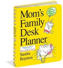2012 Mom's Family Desk Planner Calendar