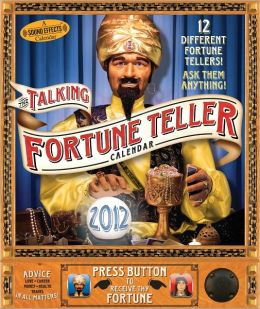 2012 Talking Fortune Teller Wall Calendar