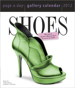 2012 Shoes Page-A-Day Gallery Calendar