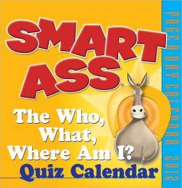 2012 Smart Ass Page-A-Day Calendar
