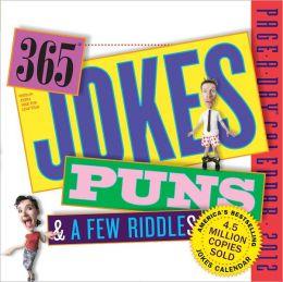 2012 The Original 365 Jokes, Puns, & A Few Riddles Page-A-Day Calendar