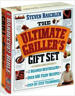 Steven Raichlen Gift Set: Barbecue Bible and How to Grill