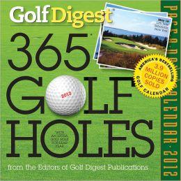 2012 Golf Digest 365 Golf Holes Page-A-Day Calendar