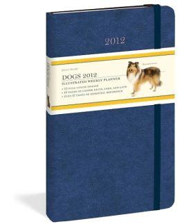 2012 Dogs Daily Muse Weekly Planner Calendar
