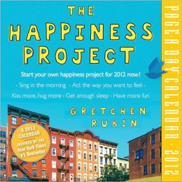 2012 The Happiness Project Page-A-Day Calendar
