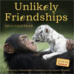 2014 Unlikely Friendships Wall Calendar