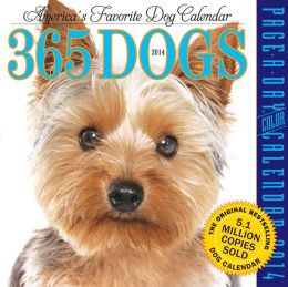 2014 365 Dogs Page-A-Day Calendar