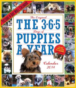2014 365 Puppies-A-Year Picture-A-Day Wall Calendar