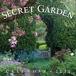 2014 The Secret Garden Wall Calendar