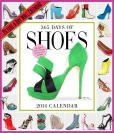 Book Cover Image. Title: 2014 365 Days of Shoes Picture-A-Day Wall Calendar, Author: Workman