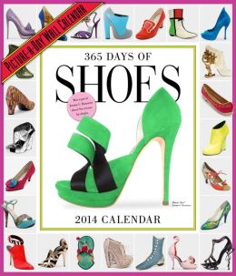 2014 365 Days of Shoes Picture-A-Day Wall Calendar