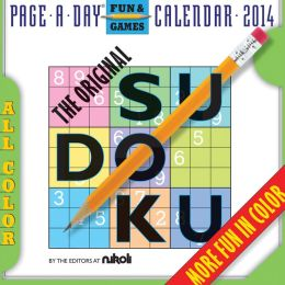 2014 The Original Sudoku Page-A-Day Calendar