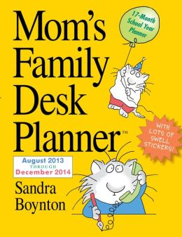 2014 Mom's Family Desk Planner