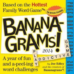 2014 Bananagrams Page-A-Day Calendar