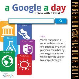 2014 A Google A Day Page-A-Day Calendar