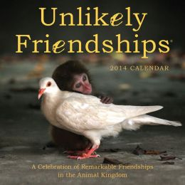 2014 Unlikely Friendships Mini Wall Calendar