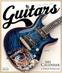 2015 Guitars Wall Calendar