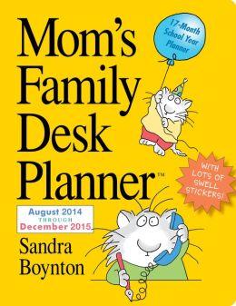 2015 Mom's Family Desk Planner