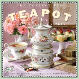 2015 The Collectible Teapot & Tea Wall Calendar