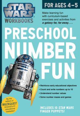 Star Wars Workbook: Preschool Number Fun!