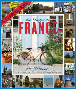 2015 365 Days in France Wall Calendar