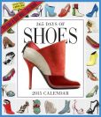 Book Cover Image. Title: 2015 365 Days of Shoes Wall Calendar, Author: Workman Publishing
