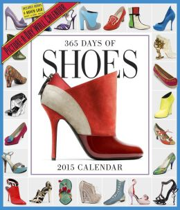 2015 365 Days of Shoes Wall Calendar