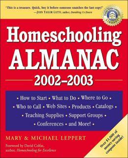 Homeschooling Almanac, 2002-2003