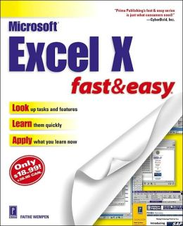 Microsoft Excel 2002 Fast and Easy