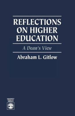 Reflections On Higher Education