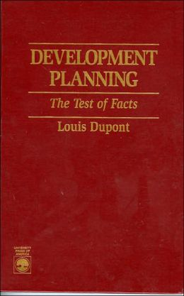 Development Planning: The Test of Facts