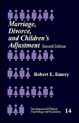 Marriage, Divorce, And Children's Adjustment (2nd Ed)