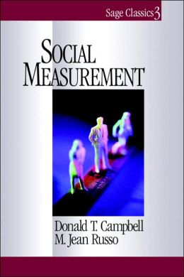 Social Measurement (Sage Classics #3)