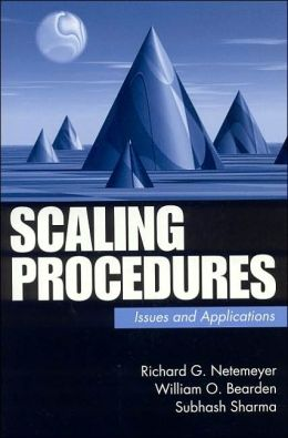 Scaling Procedures for Self-Report Measures in the Social Sciences: Issues and Applications