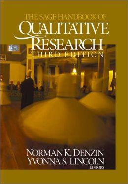 The Sage Handbook of Qualitative Research (Third Edition)