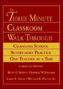 The Three-Minute Classroom Walk-Through