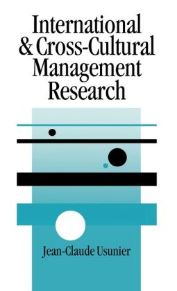 International and Cross-Cultural Management Research