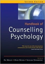Handbook of Counselling Psychology