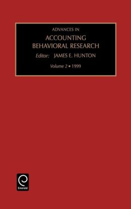 Advances in Accounting Behaviour: Vol 2