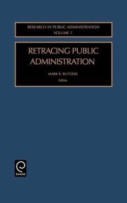 Retracing Public Administration
