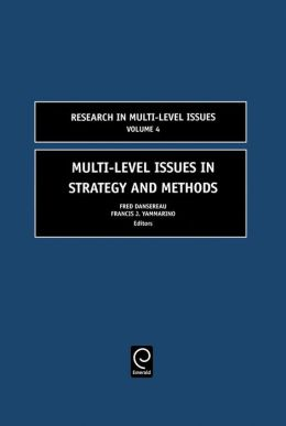 Multi-Level Issues in Strategy and Methods