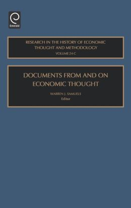 Documents From And On Economic Thought